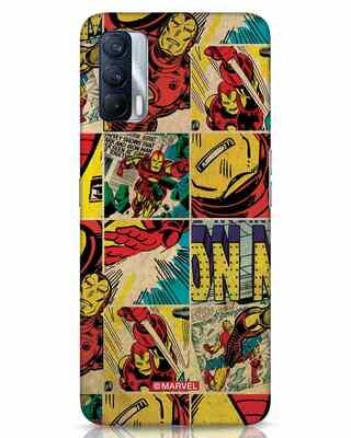 Shop Iron Man Pattern Realme X7 Mobile Cover-Front