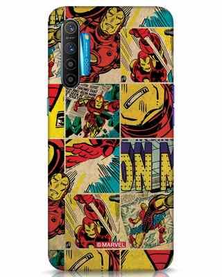 Shop Iron Man Pattern Realme XT Mobile Cover-Front
