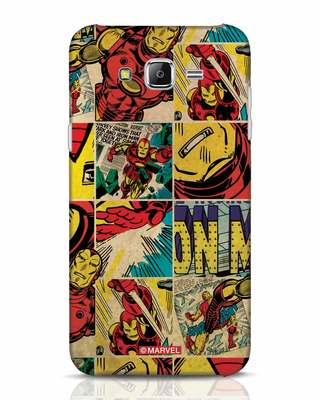 Shop Iron Man Pattern Samsung Galaxy J7 Mobile Cover-Front