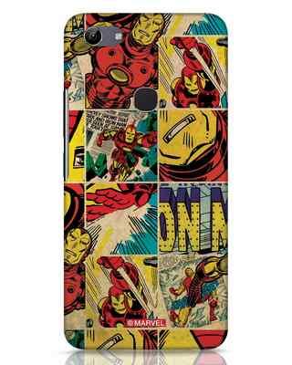Shop Iron Man Pattern Vivo Y81 Mobile Cover-Front