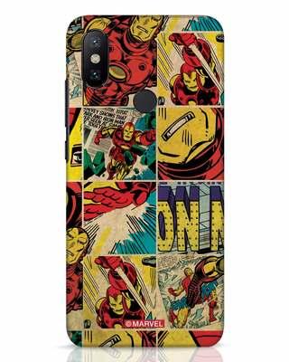 Shop Iron Man Pattern Xiaomi Mi A2 Mobile Cover-Front
