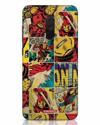 Shop Iron Man Pattern Xiaomi POCO F1 Mobile Cover-Front