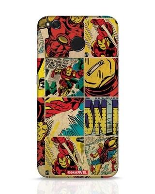 Shop Iron Man Pattern Xiaomi Redmi 4 Mobile Cover-Front