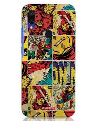 Shop Iron Man Pattern Xiaomi Redmi Y3 Mobile Cover-Front