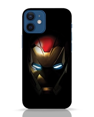 Shop Iron Man Shadows iPhone 12 Mini Mobile Cover-Front