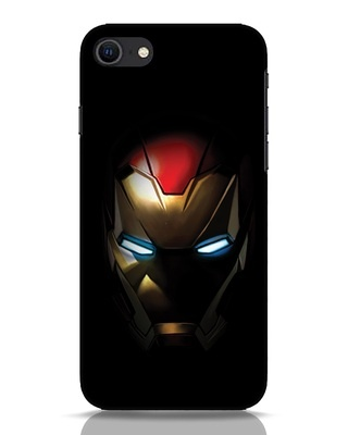 Shop Iron Man Shadows iPhone SE 2020 Mobile Cover-Front