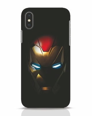 Shop Iron Man Shadows iPhone X Mobile Cover-Front