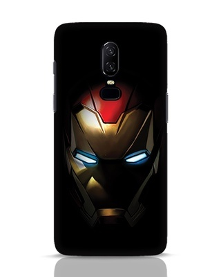 Shop Iron Man Shadows OnePlus 6 Mobile Cover-Front