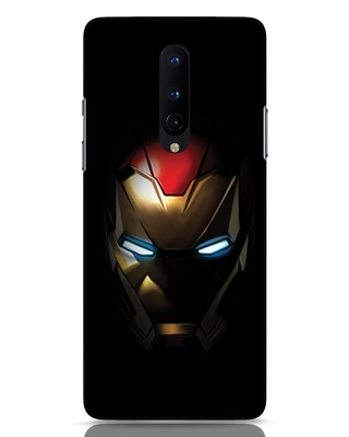 Shop Iron Man Shadows OnePlus 8 Mobile Cover-Front