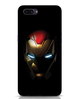 Shop Iron Man Shadows Oppo A3S Mobile Cover-Front