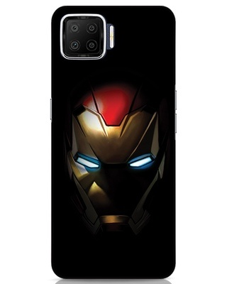 Shop Iron Man Shadows Oppo F17 Mobile Cover-Front