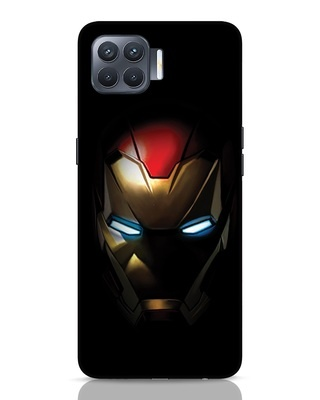 Shop Iron Man Shadows Oppo F17 Pro Mobile Cover-Front