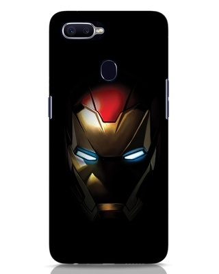 Shop Iron Man Shadows Oppo F9 Pro Mobile Cover-Front