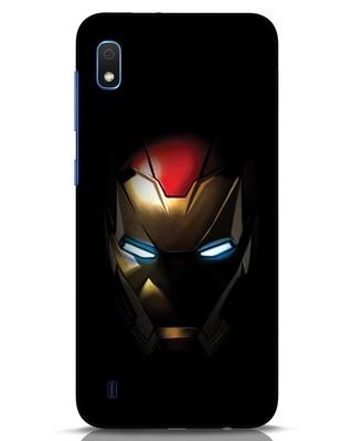 Shop Iron Man Shadows Samsung Galaxy A10 Mobile Cover-Front