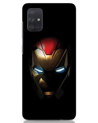Shop Iron Man Shadows Samsung Galaxy A71 Mobile Cover-Front