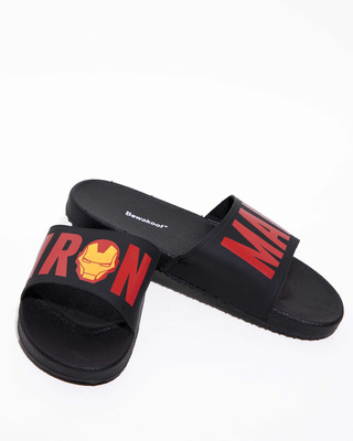 Shop Iron Man Sliders (AVL)-Front
