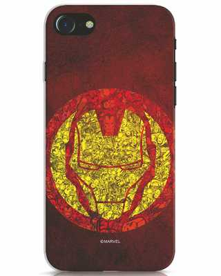 Shop Ironman Collage iPhone 7 Mobile Cover (AVL)-Front
