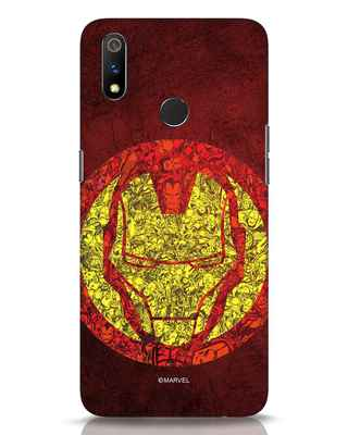 Shop Ironman Collage Realme 3 Pro Mobile Cover (AVL)-Front