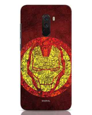 Shop Ironman Collage Xiaomi POCO F1 Mobile Cover (AVL)-Front