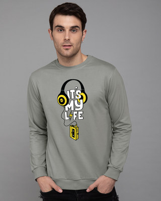 Shop It's My Life Fleece Sweater-Front