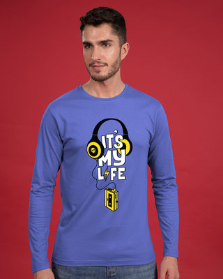 Shop It's My Life Full Sleeve T-Shirt-Front