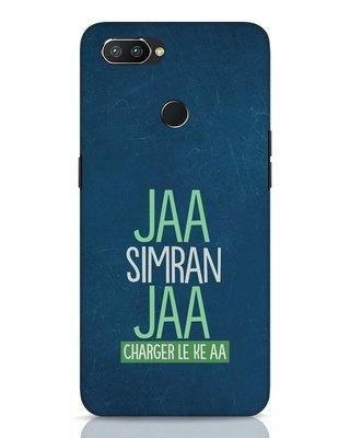 Shop Jaa Simran Jaa Charger Le Ke Aa Realme 2 Pro Mobile Cover-Front