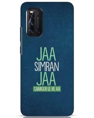 Shop Jaa Simran Jaa Charger Le Ke Aa Vivo V19 Mobile Cover-Front