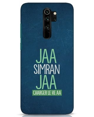Shop Jaa Simran Jaa Charger Le Ke Aa Xiaomi Redmi Note 8 Pro Mobile Cover-Front