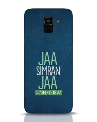 Shop Jaa Slmran Jaa Charger Le Ke Aa Samsung Galaxy J6 Mobile Cover-Front