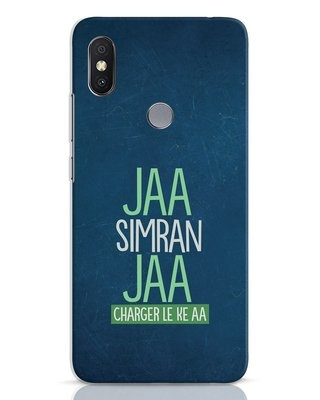 Shop Jaa Slmran Jaa Charger Le Ke Aa Xiaomi Redmi Y2 Mobile Cover-Front