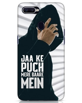 Shop Jaake Puch Mere Baare Mein Realme 2 Pro Mobile Cover-Front