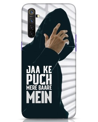 Shop Jaake Puch Mere Baare Mein Realme 6 Mobile Cover-Front