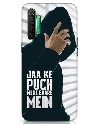 Shop Jaake Puch Mere Baare Mein Realme X2 Mobile Cover-Front