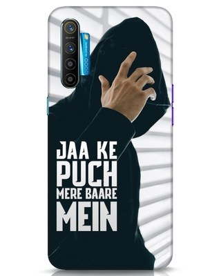 Shop Jaake Puch Mere Baare Mein Realme XT Mobile Cover-Front