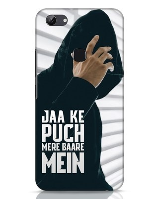 Shop Jaake Puch Mere Baare Mein Vivo Y83 Mobile Cover-Front