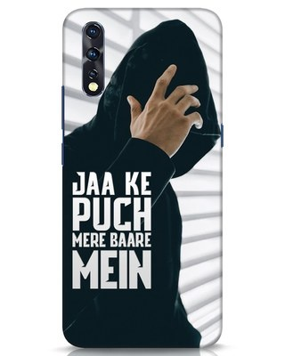 Shop Jaake Puch Mere Baare Mein Vivo Z1x Mobile Cover-Front