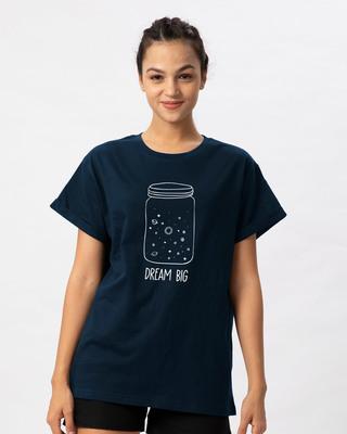 Shop Jar Of Dreams Boyfriend T-Shirt (GID)-Front