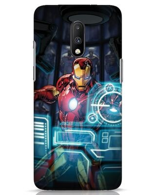 Shop Jarvis OnePlus 7 Mobile Cover (AVL)-Front