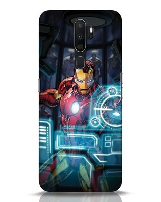 Shop Jarvis Oppo A5 2020 Mobile Cover (AVL)-Front