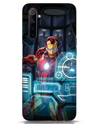 Shop Jarvis Realme 6i Mobile Cover (AVL)-Front