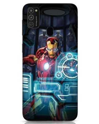 Shop Jarvis Samsung Galaxy M21 Mobile Cover (AVL)-Front