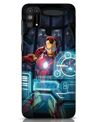 Shop Jarvis Samsung Galaxy M31 Mobile Cover (AVL)-Front