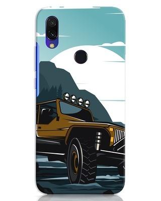 Shop Jeep Xiaomi Redmi 7 Mobile Cover-Front