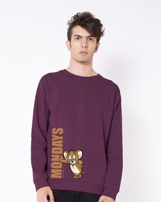 Shop Jerry Monday Fleece Light Sweatshirt (TJL)-Front