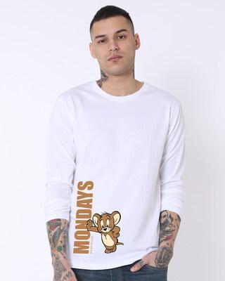 Shop Jerry Monday Full Sleeve T-Shirt ((TJL)-Front