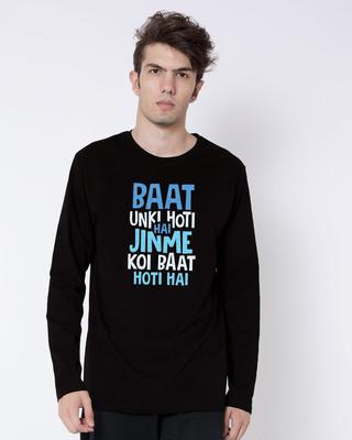 Shop Jinme Koi Baat Hoti Hai Full Sleeve T-Shirt-Front