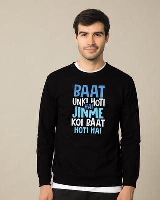Shop Jinme Koi Baat Hoti Hai  Sweatshirt-Front