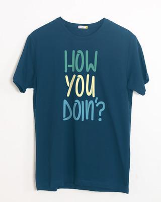 Buy Joey How You Doin Half Sleeve T-Shirt Online India @ Bewakoof.com