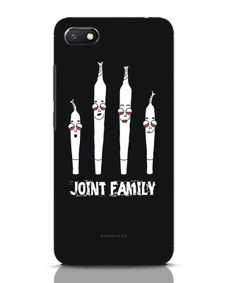 Shop Joint Family Xiaomi Redmi 6A Mobile Cover-Front