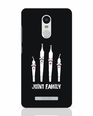 Shop Joint Family Xiaomi Redmi Note 3 Mobile Cover-Front